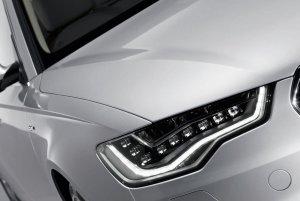 Audi A6 with LEd bulbs