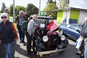 Classic Car Heaven at Beaulieu's Spring Autojumble