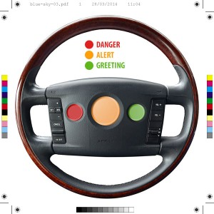 Three Horn Steering Wheel