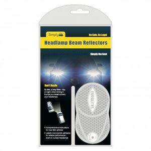 Headlight Beam Adaptors For Continental Driving