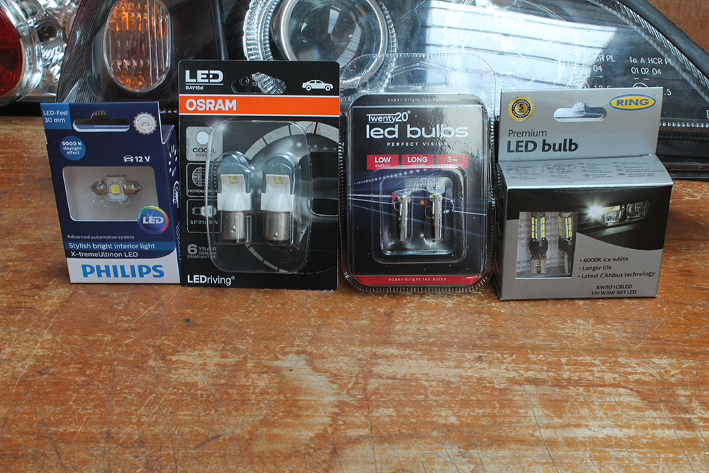 LED Bulbs & CANbus Error Codes - How To Fix (with video)