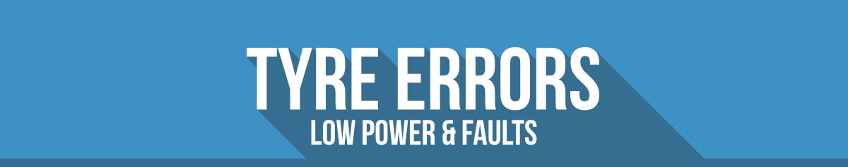 BMW Error Codes - Tyre Errors