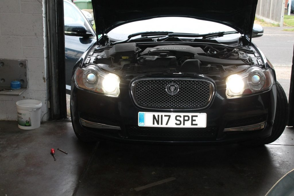 How to Change Headlight Bulbs on a Jaguar XF | Simple Guide