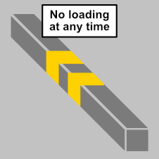 No loading or unloading at any time