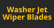 Washer Jet Wiper Blades