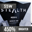 H7 HIDS4U Stealth-X 55W Xenon HID Conversion Kit