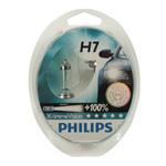 Light Bulbs H7 Philips X-treme Vision +100% Headlight Bulbs (Pair)