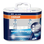 H1 OSRAM Night Breaker Plus +90% Upgrade Xenon Headlight Bulbs (Pair)