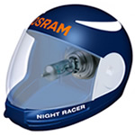 H4 Osram Night Racer +90% Motorcycle bulbs