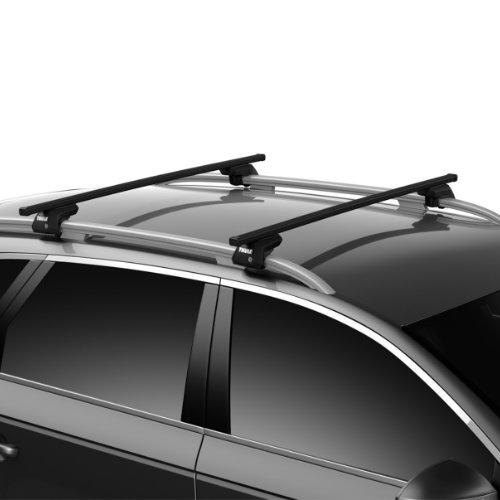 Mercedes-Benz CLA Shooting Brake Estate (X117) 2015-2019 Squarebar Evo Roof Bar - Thule