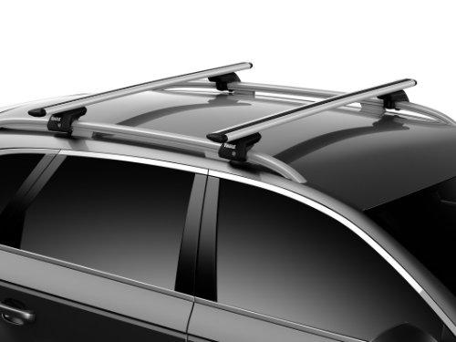 Mercedes-Benz CLA Shooting Brake Estate (X117) 2015-2019 Wingbar Evo Roof Bar - Thule