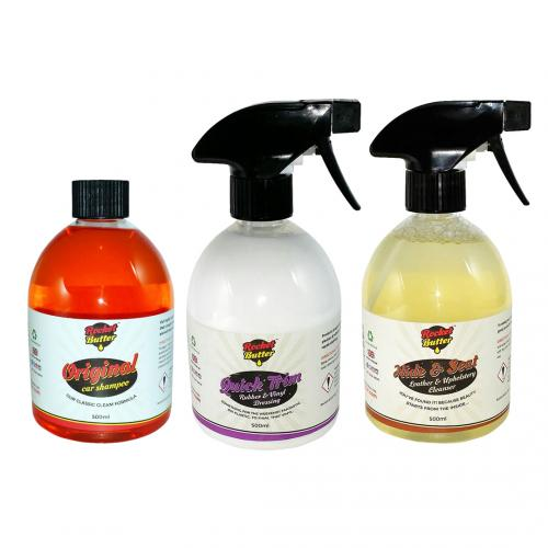 Show Stopper Rocket Pack Car Cleaning Kit By Rocket Butter - Show car cleaning products