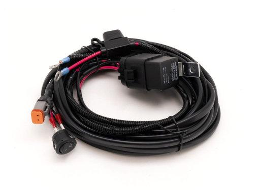 Single-Lamp Harness - With Switch (Utility Series, 12V) - Lazer Lamps