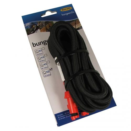 Bungeeclic Bungee Cords x2 120cm