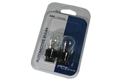 180 ABD Prime 12V 27/7W 3157 Wedge Bulbs (Pair)