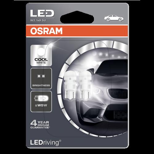 501 OSRAM LED 12V W5W Wedge Bulbs (Pair)