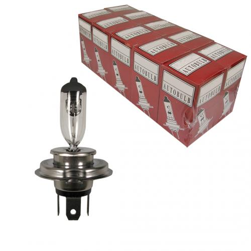 H4 Standard Replacement 12V 60/55W 472 Halogen Bulb (Trade Pack of 10)