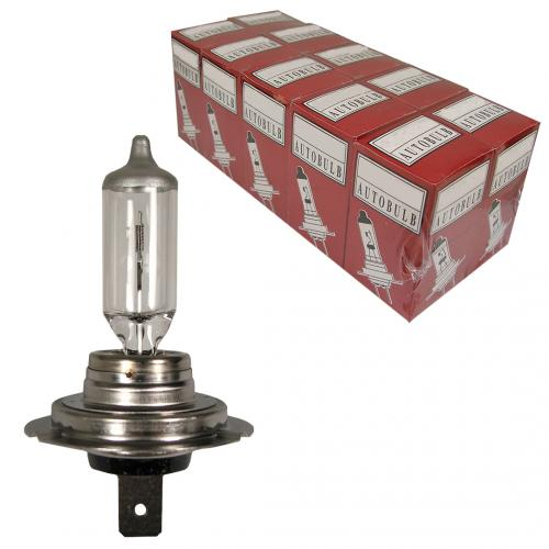 H7 Standard Replacement 12V 55W 477 Halogen Bulbs (Trade Pack of 10)