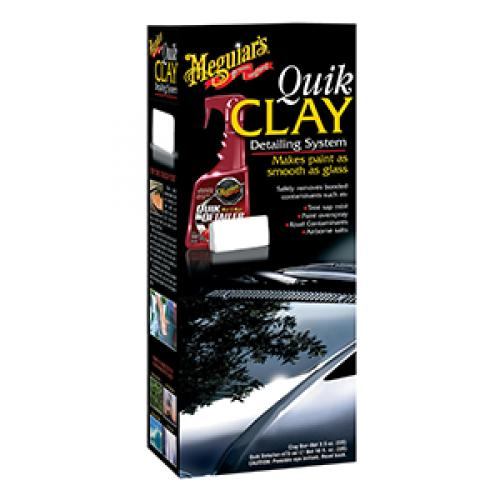 Meguiar's Quik Clay Starter Kit 473ml and 50g Clay Bar