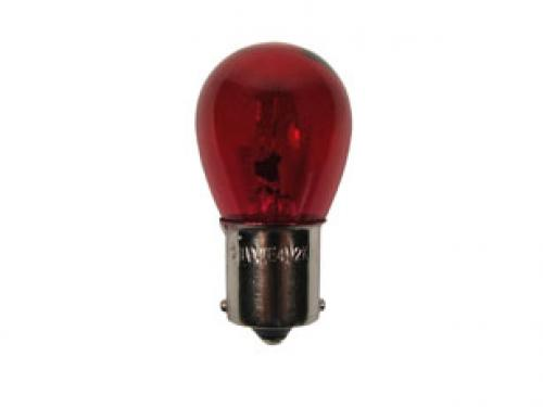 382 Red Standard Replacement 12V 21W P21W Bayonet Bulb
