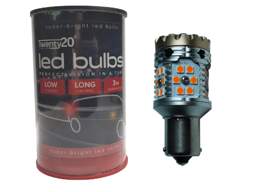 382 Twenty20 HF0 LED Indicator Bulbs (Amber) - Anti Hyper Flash