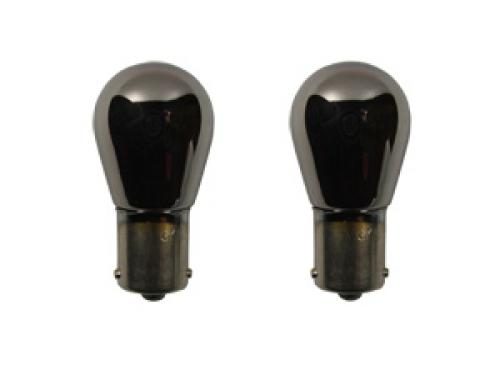 382 ABD Prime Silver (Amber) 12V 21W P21W Bayonet Bulbs (Pair)