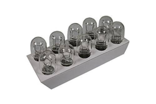 580 Ring Standard Replacement 12V 21/5W W21/5W Wedge Bulbs (Trade Pack of 10)