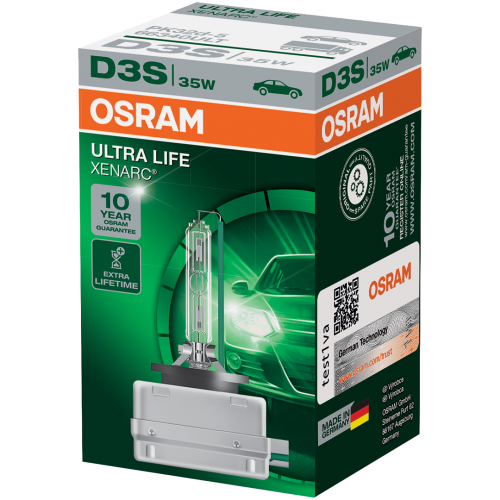 D3S OSRAM Ultra Life 35W Xenon HID Bulb