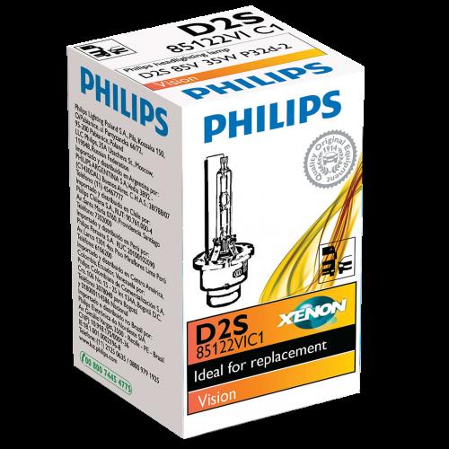 D2S Philips Vision 35W 4300K Xenon HID Bulb
