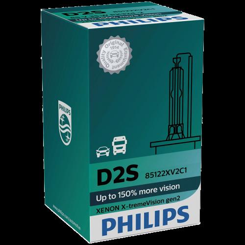 d2s philips x treme vision 35w 4800k xenon hid bulb. Black Bedroom Furniture Sets. Home Design Ideas