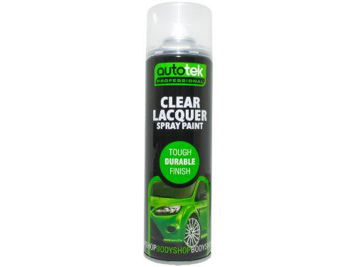 Autotek Clear Gloss Lacquer 500ml
