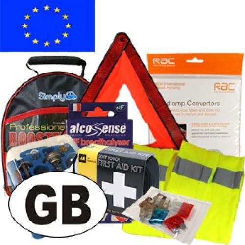 Full Travel Kit for Driving to Europe