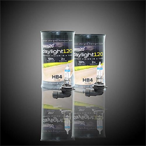 HB4 Twenty20 Daylight120 +120% 12V 51W 9006 Halogen Bulbs (Pair)