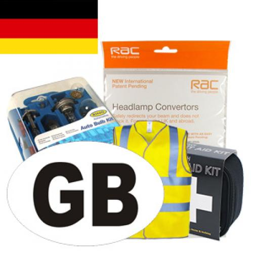 Germany Travel Kit for Driving in Europe