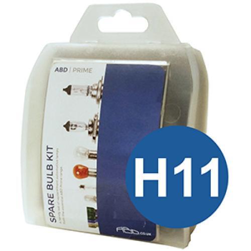 H11 ABD Prime Spare Bulb Kit