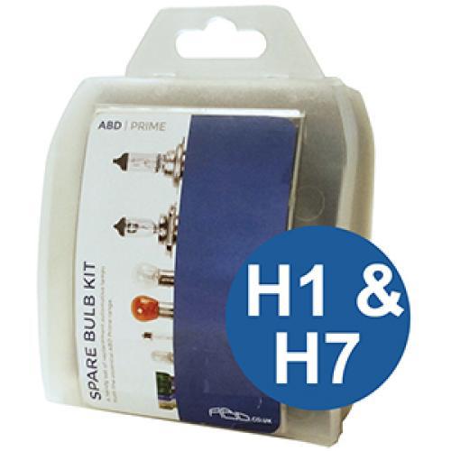 H1 - H7 ABD Prime Spare Bulb Kit
