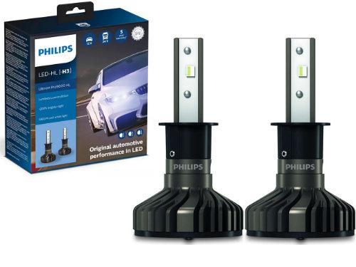 H3 Philips Ultinon Pro9000 LED Foglight Bulbs