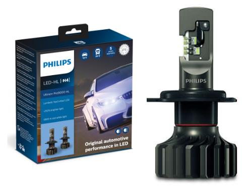 H4 Philips Ultinon Pro9000 LED Headlights (Pair)