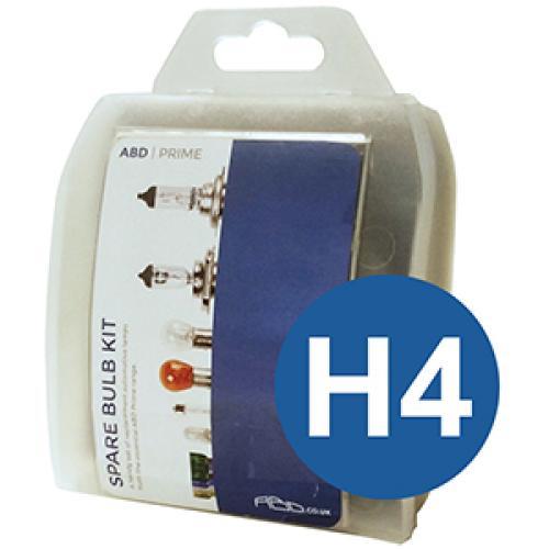 H4 ABD Prime Spare Bulb Kit