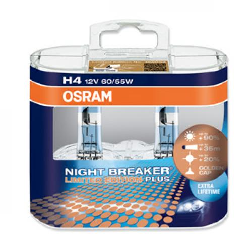 h4 osram night breaker plus 90 limited edition. Black Bedroom Furniture Sets. Home Design Ideas