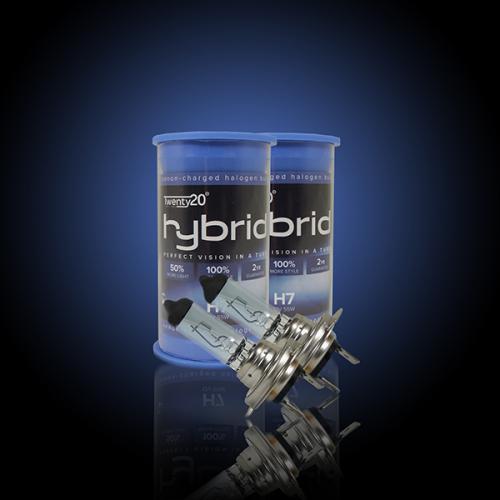 H7 Twenty20 Hybrid 12V 55W 477 Halogen Bulbs (Pair)