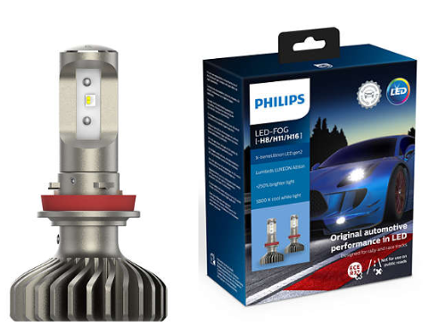 H8/H11/H16 Philips LED X-treme Ultinon Gen2 Pair