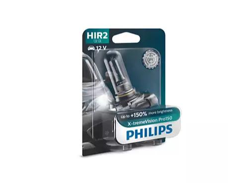 HIR2 Philips X-tremeVision Pro150 12V 55W Halogen Bulb