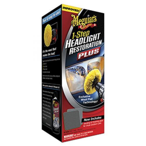 Meguiar's 1 Step Headlight Restoration Kit