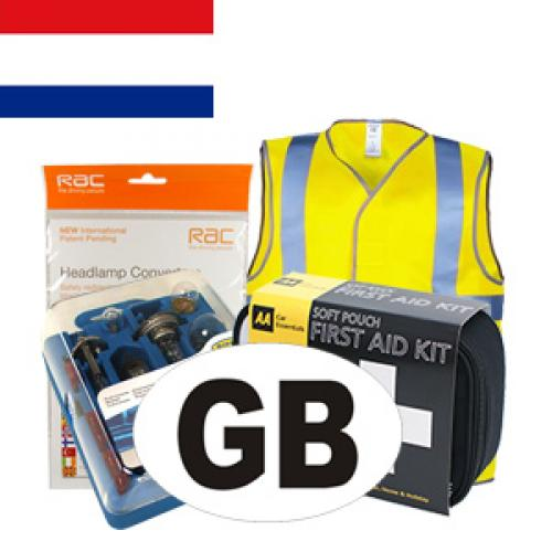 Netherlands Travel Kit for Driving in Europe