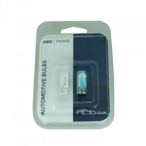 501 ABD Prime Silver Style Side Indicator Bulbs (Pair)