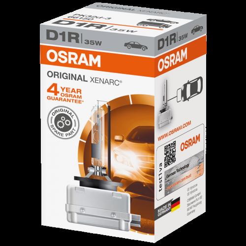 D1R OSRAM Original Xenarc Standard Replacement 35W 4300K Xenon HID Bulb