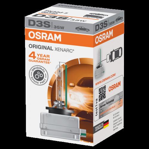d3s osram original xenarc standard replacement 35w 4100k. Black Bedroom Furniture Sets. Home Design Ideas