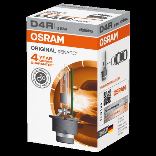 D4R OSRAM Original Xenarc Standard Replacement 35W 4300K Xenon HID Bulb