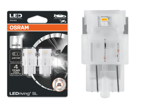 582 OSRAM LEDriving SL Range (W21W) LED Upgrade Bulbs (White) - Pair